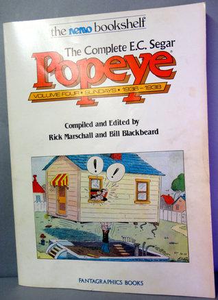 The Complete E.C. Segar Popeye Volume 4: Sundays - 1936-1938