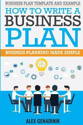 Business Plan Template And Example How To Write A Business Plan - Creating a business plan template