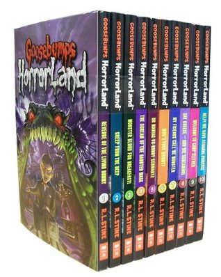 Goosebumps Horrorland Series Collection R L Stine 10 Books Set