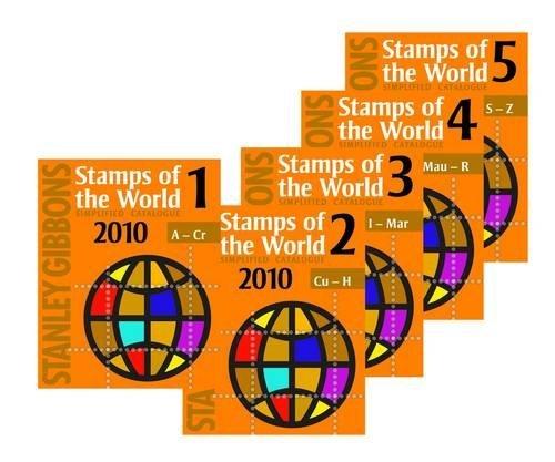 Stanley Gibbons Stamps of the World 2010: v. 1-5