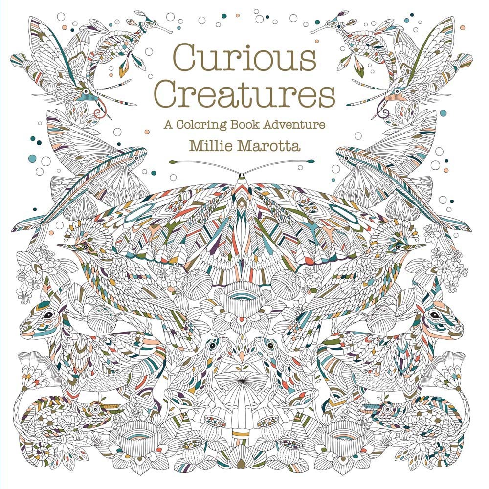Curious Creatures: A Coloring Book Adventure