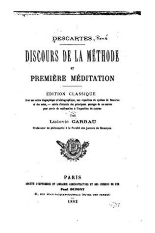 Discours de la méthode et première méditation