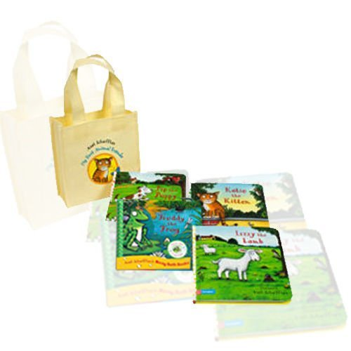 My First Animal Friends Collection 4 Books Bundle (Freddy the Frog [Bath Book], Lizzy the Lamb Jigsaw Book, Rhyming Stories: Pip the Dog and Freddy the Frog, Katie the Kitten [Bath Book])