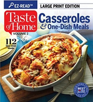 Taste Of Home Casseroles & One-Dish Meals Vol. 2