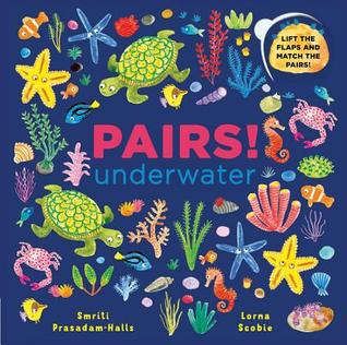 Pairs: Underwater: Lift the flaps and match the pairs!