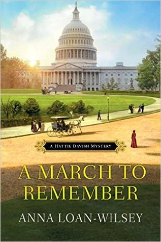 A March to Remember (Hattie Davish Mystery, #5)