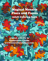 Magical Mosaics - Flora and Fauna: Adult Coloring Book