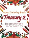 Adult Coloring Book Treasury 2 by Treasury Artists Group