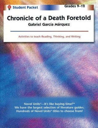 Chronicle of a Death Foretold Student Packet Teachers Guide