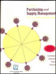 Purchasing and Supply Management: Strategies and Applications