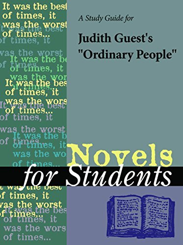 """A Study Guide for Judith Guest's """"Ordinary People"""" (Novels for Students)"""