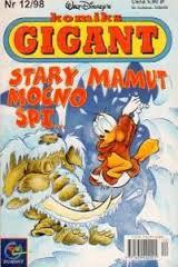 Ebook Gigant 12/98: Stary mamut mocno śpi by Jacek Drewnowski DOC!