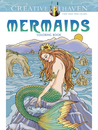 Creative Haven Mermaids Coloring Book