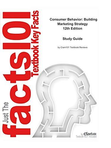 Consumer Behavior: Building Marketing Strategy, textbook by Delbert Hawkins--Study Guide