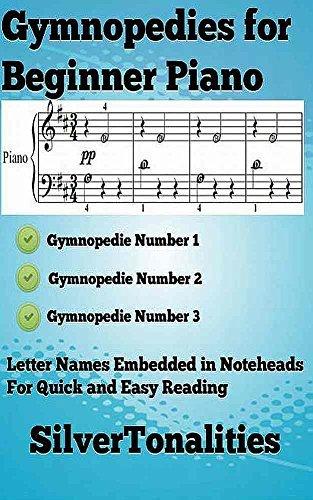 Three Gymnopedies for Beginner Piano Sheet Music