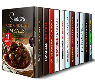 Snacks and One-Dish Meals Box Set (11 in 1)