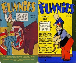 The Funnies issues 11 & 12. Features Mutt & Jeff, Alley Oop, Captain Easy, Also Crossword Puzzle, Cartoon Contest, Magic Pages, Sport Features and A Thrilling ... Comedy