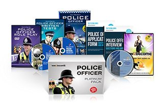 POLICE OFFICER Recruitment Platinum Package Box Set: How to Become a Police Officer Book, Police Officer Interview Questions and Answers, Application ... Fitness Test CD (How2become): 1 (Career Kit)