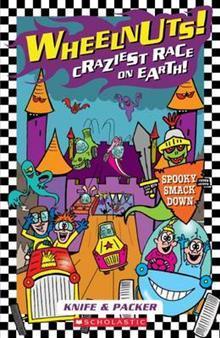 Spooky smack down (Wheelnuts! Craziest Race on Earth #2)