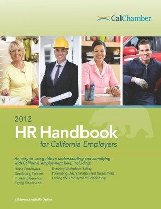 2012 HR Handbook for California Employers