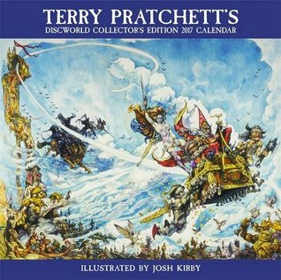 Terry Pratchett's Discworld Collectors' Edition Calendar 2017
