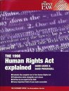 The Human Rights Act, 1998 Explained (Point of Law)