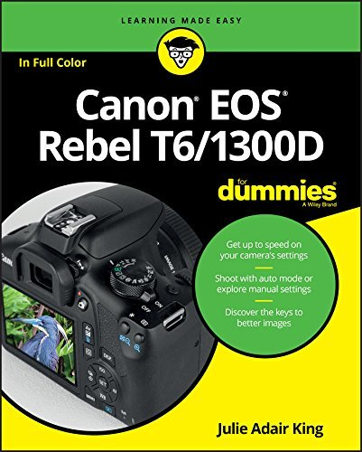 Canon EOS Rebel T6/1300D For Dummies (For Dummies