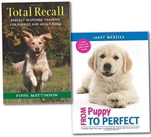 Dog and Puppy Training 2 Books Collection Set (Dog Caring, Brain games, Training, Tricks, Behaviour, Grooming, Tips, Guide to Puppy Care, Encyclopaedia Guide to Dog Training and Behaviour, dog activities books)