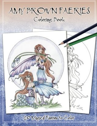 Amy Brown Faeries Coloring Book 3