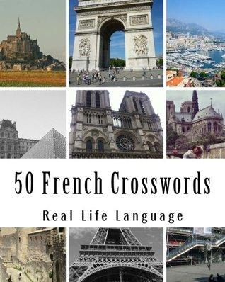 50 French Crosswords: Crosswords for beginners and Intermediate level