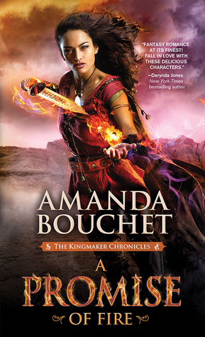 A Promise of Fire by Amanda Bouchet thumbnail