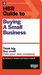 HBR Guide to Buying a Small Business (HBR Guide Series) (Harvard Business Review Guides)