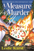 A Measure of Murder A Sally Solari Mystery by Leslie Karst