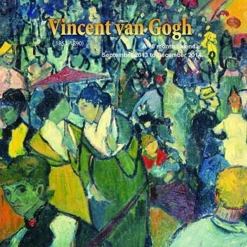 Vincent Van Gogh 2014 Wall Calendar