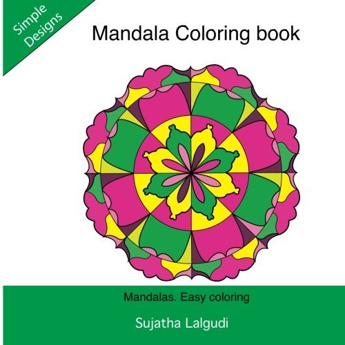 Mandala Coloring book: Mandalas. Easy coloring: Simple mandala coloring book, Adult mandala coloring Books,Mandala coloring, Adult Coloring Book: ... coloring books for Adults) (Volume 2)