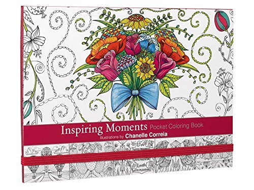 Inspiring Moments: Inspirational Adult Coloring Book