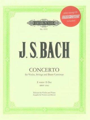 Bach: Violin Concerto in E Major BWV 1042 with play-along CD