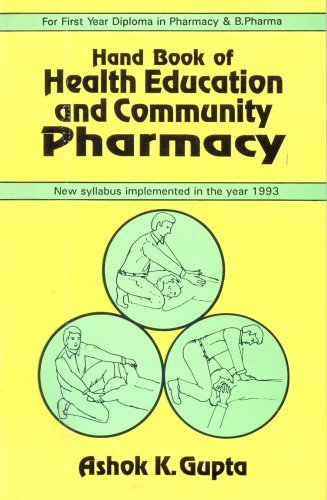 Hand Book of Health Education and Community Pharmacy: 0