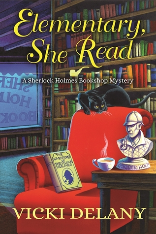 Elementary, She Read (hardcover)