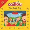 Caillou The Road Trip: Travel Bingo Game included