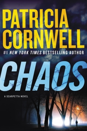 Book cover Chaos by Patricia Cornwell, bedside books, reading list