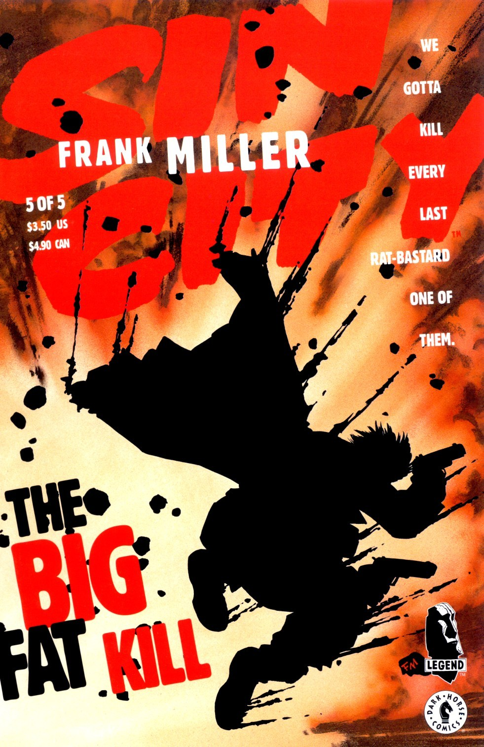 Sin City, Vol. 3: The Big Fat Kill (Sin City, #3)