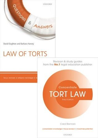 Tort Law Revision Pack 2015 Law revision and study guide (Pack)
