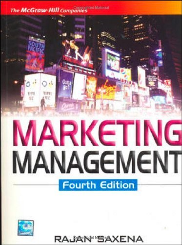 Marketing Management, 4th Edition