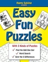 Easy, Fun Puzzles: Word Search, Find the Odd One Out and Spot the Differences
