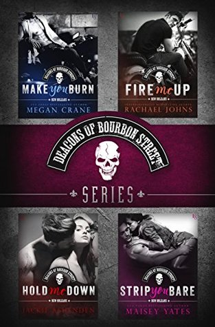 Ebook The Deacons of Bourbon Street Series 4-Book Bundle: Make You Burn, Fire Me Up, Hold Me Down, Strip You Bare by Megan Crane DOC!