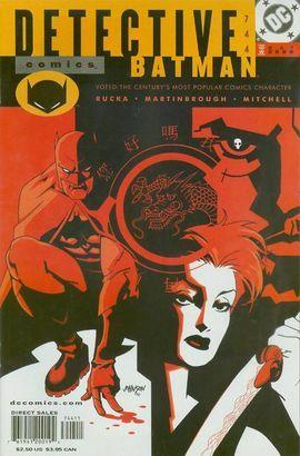 Detective Comics #744