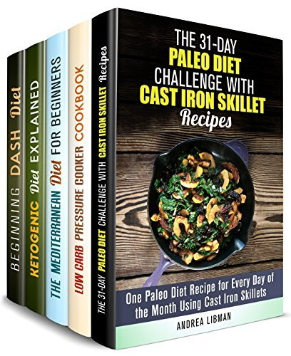 Diet Plans Box Set (5 in 1): Paleo, Low Carb, Mediterranean, Ketogenic and DASH Delicious Diet Recipes to Try (Weight Loss & Diet Plans)