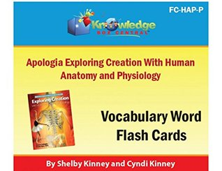 Apologia Exploring Creation with Human Anatomy & Physiology Vocabulary Word Flash Cards