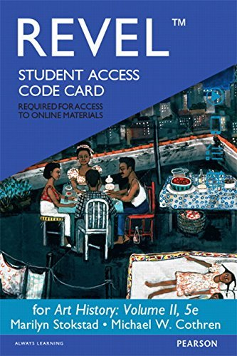 Revel for Art History, Volume 2 -- Access Card